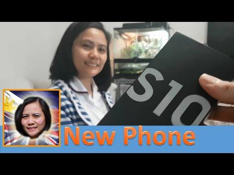 Phone Un-boxing Samsung S10 - Filipino Life in the UK - Manila London