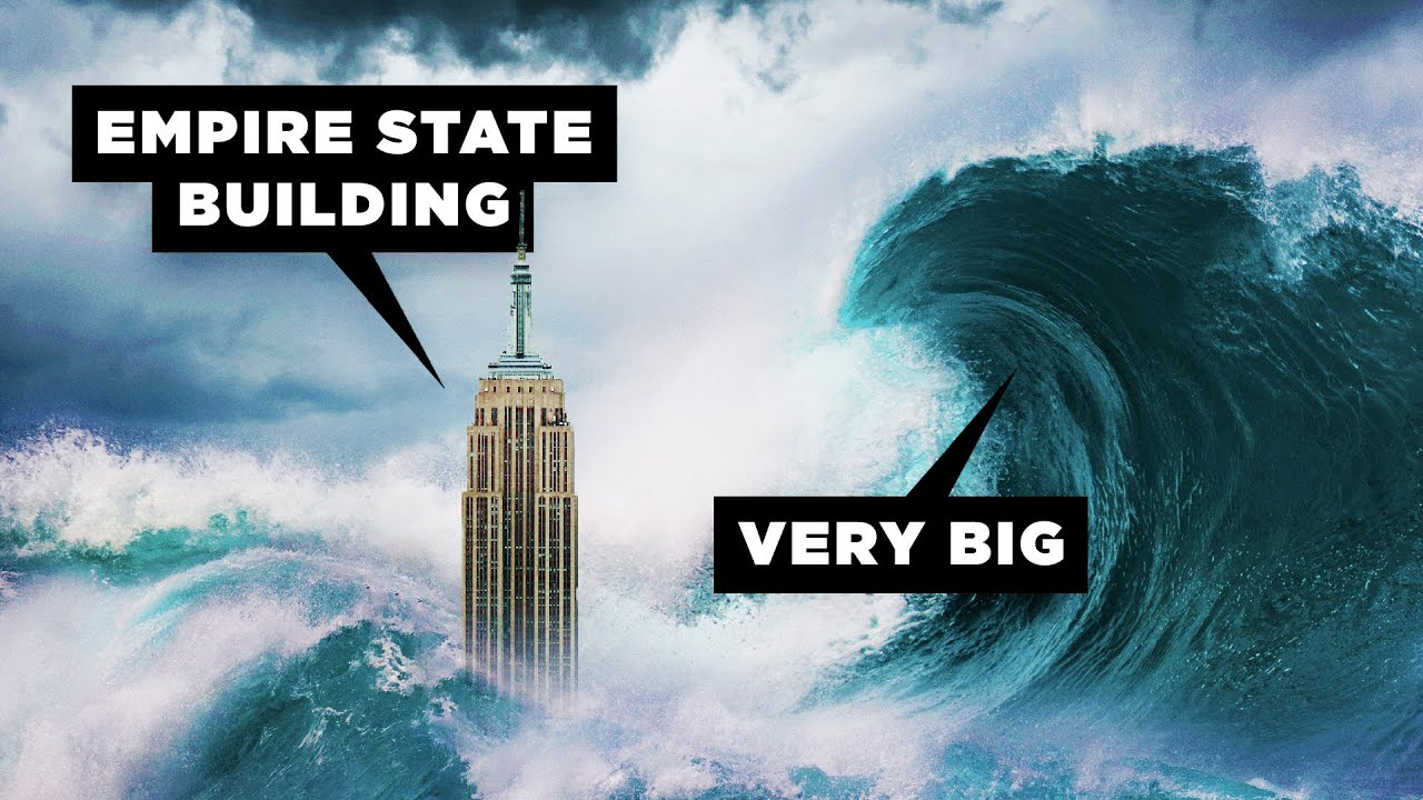 how big do tsunamis get youtube