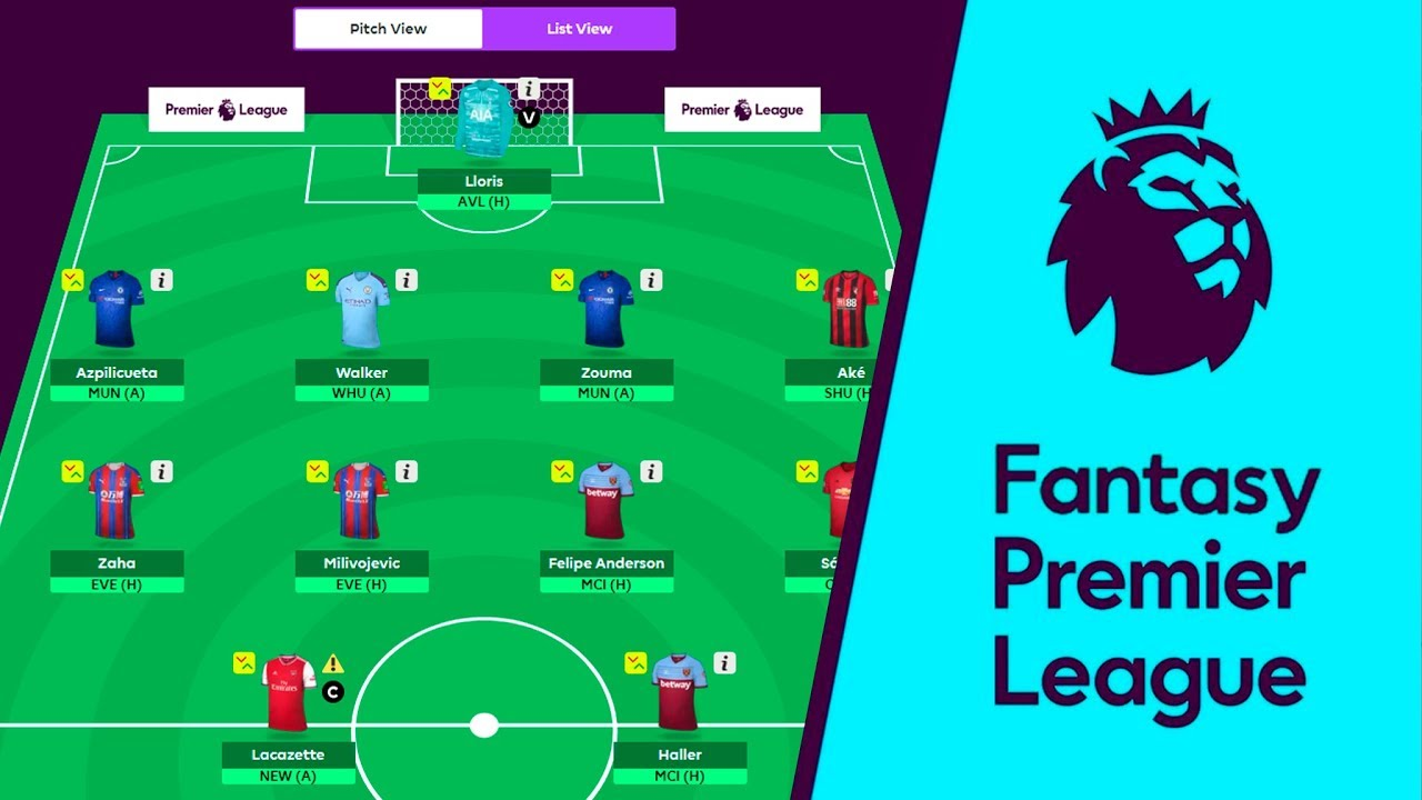 fantasy football premier league