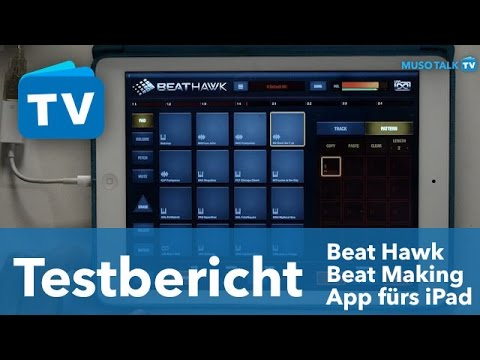 test uvi beathawk beat making app f rs ipad youtube. Black Bedroom Furniture Sets. Home Design Ideas