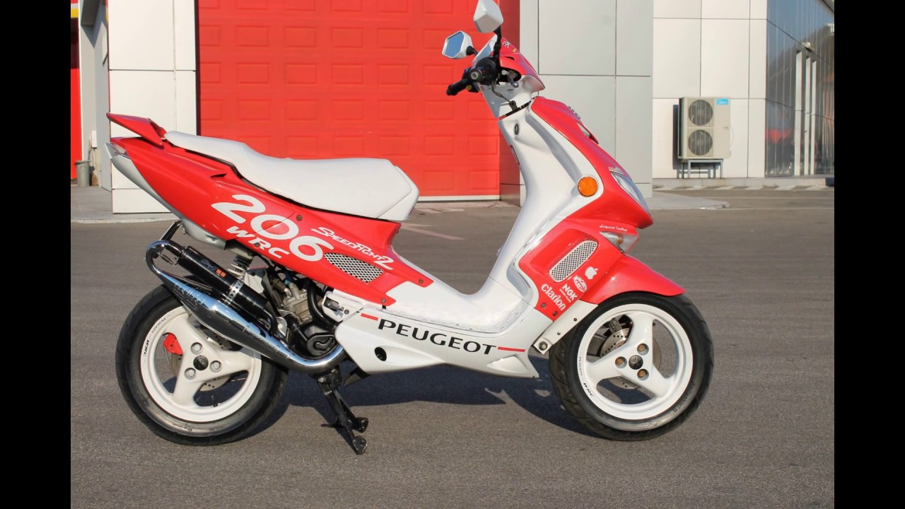 peugeot speedfight 2 70cc разгон