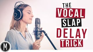 The VOCAL SLAP DELAY trick - Mix your vocals like a Pro