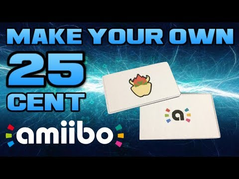How To Make Amiibo For Just 25¢!