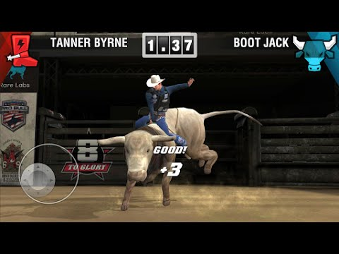 8 To Glory - Bull Riding (by ThreeGates) - Sports Game For Android And IOS - Gameplay.