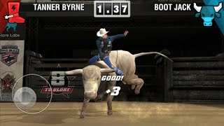 8 to Glory - Bull Riding (by ThreeGates) - sport game for android and iOS - gameplay.