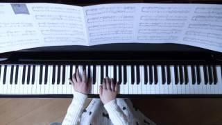 使用楽譜;月刊ピアノ2017年2月号、 2017年1月22日録画、 楽譜記載の難...