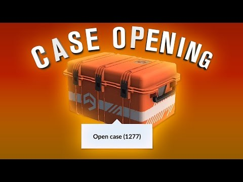 Critical Ops Case Opening! 1277 Cases! Rare Knife!