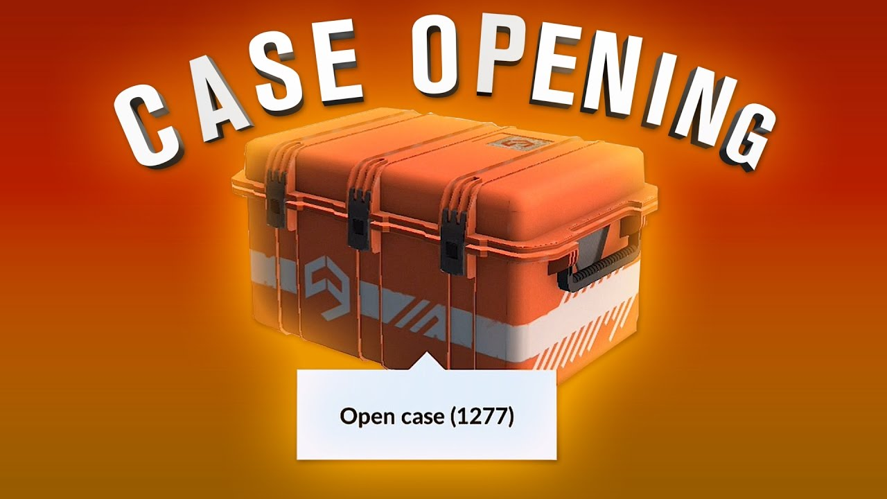 1277 Cases! Rare Knife! - YouTube