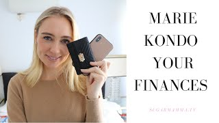 How To Marie Kondo Your Finances For More Wealth & Freedom || Minimalism & Money || SugarMamma.TV