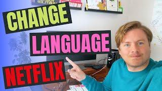 How To Change Language On Netflix On Phone 2020