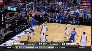 Alex Poythress Skys for a Wildcat Dunk