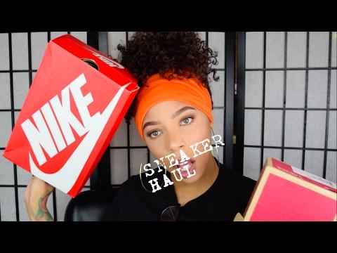 Sneaker Haul | Nike, Vans, Huaraches & More