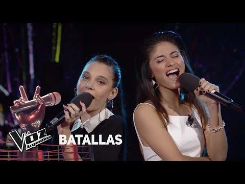 Valentina vs Juliana - 'Ahora te puedes marchar' - Luis Miguel - Batallas - La Voz Argentina 2018