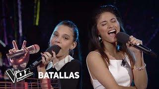 """Valentina vs Juliana - """"Ahora te puedes marchar"""" - Luis Miguel - Batallas - La Voz Argentina 2018"""