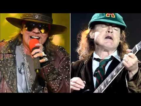 AC/DC & Axl Rose Hell Ain