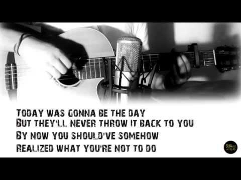 Wonderwall - Oasis - Acoustic Guitar Karaoke