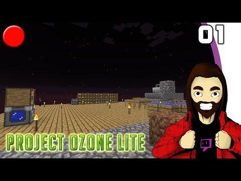 [Minecraft] Project Ozone Lite #01