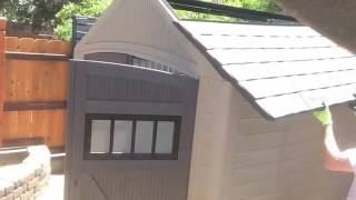 Rubbermaid 7x7 Roughneck Shed Time-Lapse Build