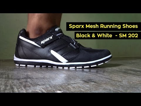new product ecaad 6e9f1 Sparx Running Shoes For Men | Black Color | Mesh | Unboxing | Review | SM  202