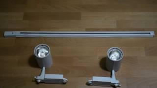 видео Трековые системы освещения