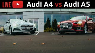 Audi A4 vs A5 sportback: What's the difference