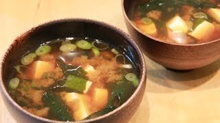 How To Make: Miso Soup With Tofu - Clearspring Organic Recipe
