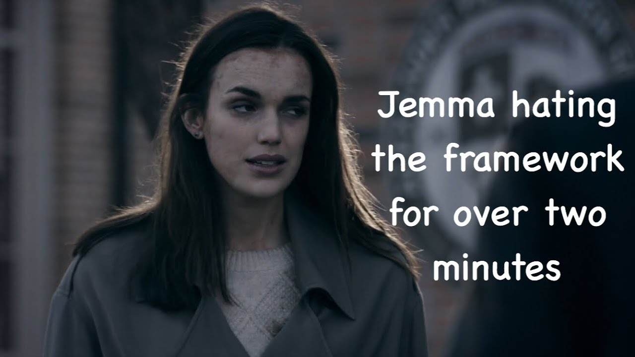 Download Jemma Simmons hating the framework for over 2 minutes