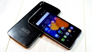 Распаковка Alcatel OneTouch Idol 3 4.7 и мини-сравнение с Idol 3 5.5 (unboxing)