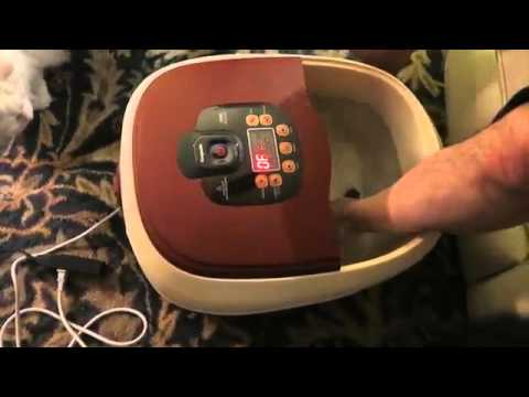 Carepeutic Ozone Waterfall Foot and Leg Spa Bath Massager Review
