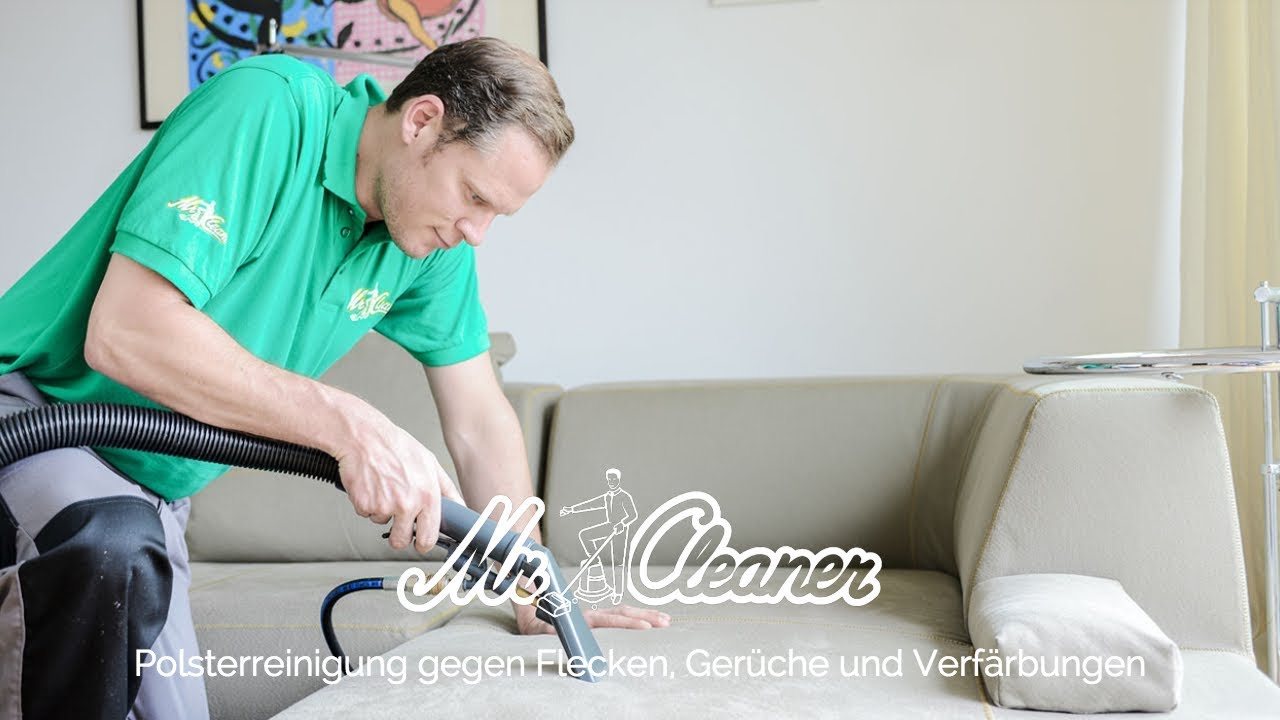 Polsterreinigung Vor Ort Zum Festpreis Mr Cleaner