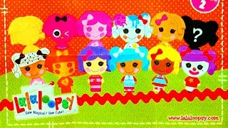 Lalaloopsy Toy Surprise Party Unboxing Sew Magical Sew Cute Littles Micro Figurines Sorpresa Thomas