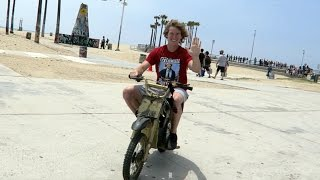 Fan Lets Me Ride His Dirt Bike!