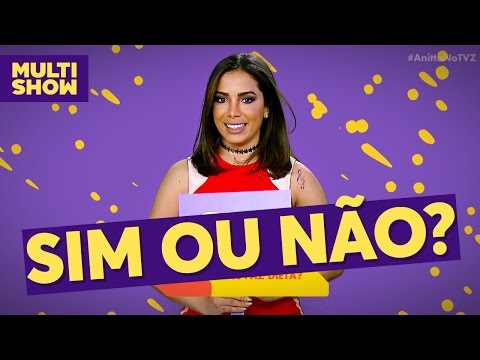 Sim ou Não | Anitta | TVZ Ao Vivo | Multishow