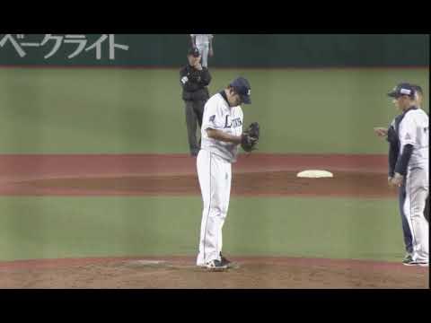Yusei Kikuchi 9_28_2018 7th inning vs Hawks