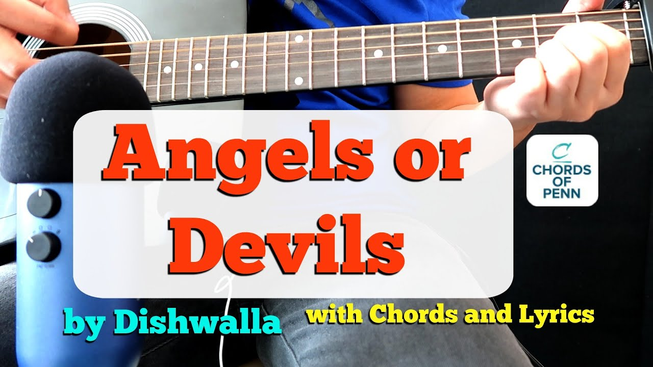 Angels or Devils by Dishwalla   Chords and Lyrics   Acoustic Guitar Cover