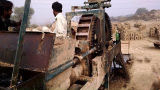 Clay Brick Machine Preparing for Running after cleaning and oiling complete detailed video