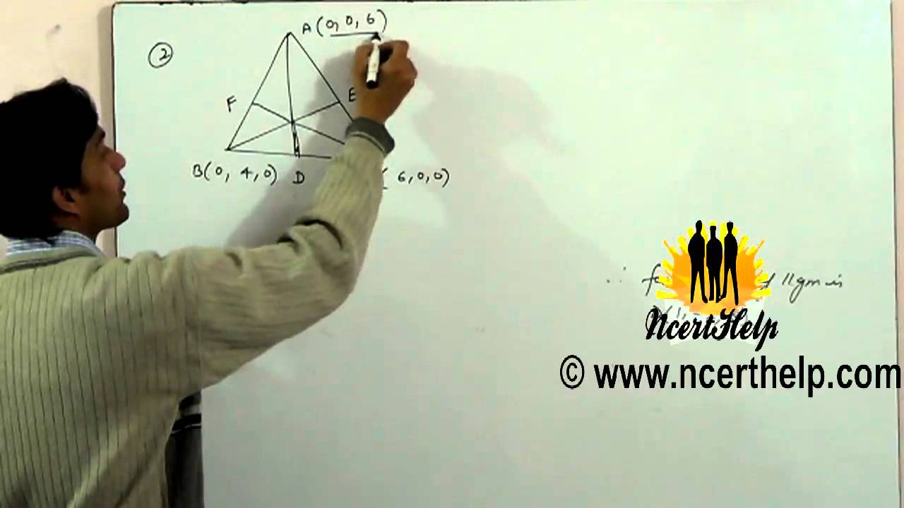 Find the lengths of the medians of the triangle with vertices a 0 find the lengths of the medians of the triangle with vertices a 0 0 6 b 04 0 and 6 0 0 youtube ccuart Image collections