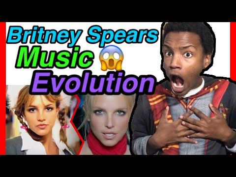 Britney Spears - Music Evolution( 1998 - 2016) Reaction