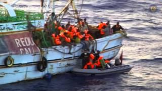 Godetia terug uit Middellandse zee.