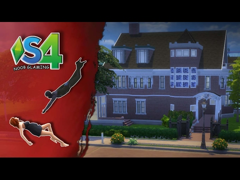 Sims 4 *Speed build* American Horror Story_Murder house