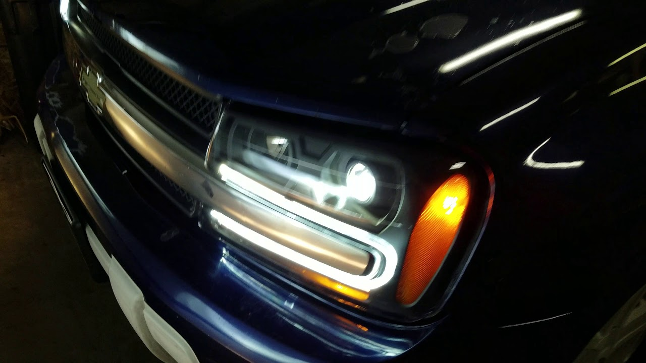 Testing Projector LED Headlights in 2003 Chevrolet ...