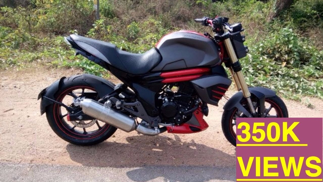 Mahindra Mojo Modified To Look Like Ducati Bigbangbiker