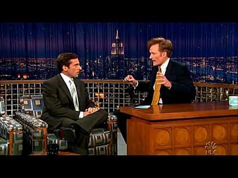 Conan O'Brien 'Steve Carell 3/23/05