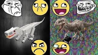 Roblox [Dinosaur Simulator] New Indominus Rex Rework!!!