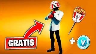 *NUEVO* PACK CON SKIN GRATIS DEL KFC en Fortnite Battle Royale