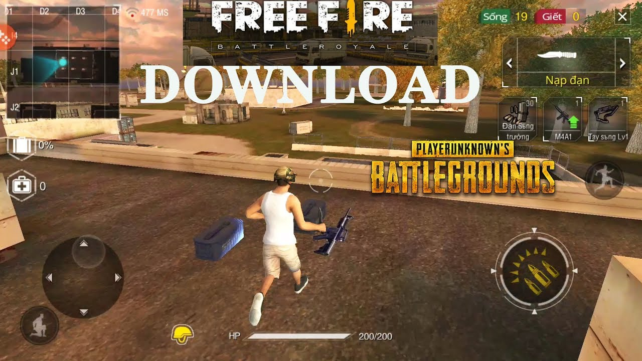 Free Fire Battle Royale Best Copy Of Pubg On Android My Favorite Gameplay Hd Ghosthd