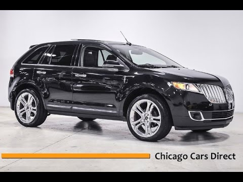 chicago cars direct presents a 2013 lincoln mkx awd in tuxedo black metallic youtube. Black Bedroom Furniture Sets. Home Design Ideas