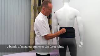 The Bad Back Companies review of the Magnetic Support Back Support.