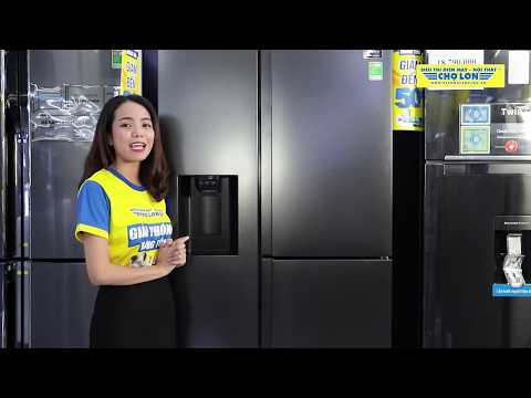 Đánh giá Tủ Lạnh SAMSUNG Inverter 650 Lít RS65R5691B4/SV   Điện Máy Chợ Lớn
