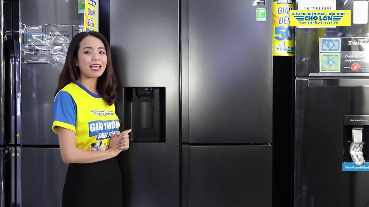Đánh giá Tủ Lạnh SAMSUNG Inverter 650 Lít RS65R5691B4/SV | Điện Máy Chợ Lớn